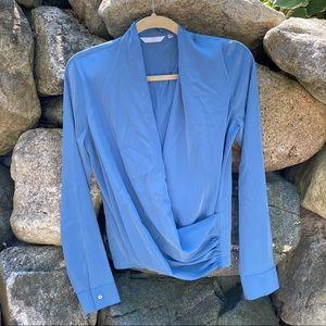 Anthropologie long sleeve blouse